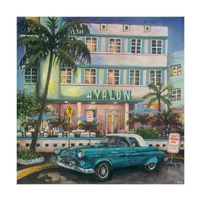 Avalon Hotel, Miami-Melissa Sturgeon-Giclee Print