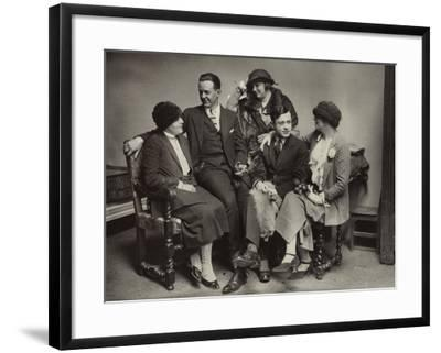 Avant-garde group in Paris, c.1925--Framed Photographic Print