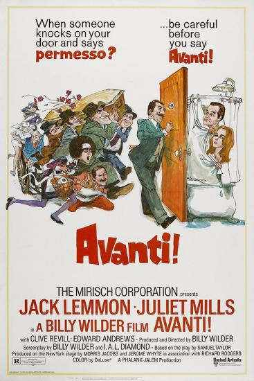 Avanti!, 1972--Giclee Print