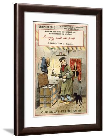Avarice--Framed Giclee Print