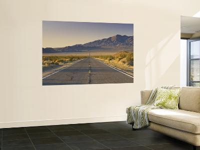 Avawatz Mountains over Silurian Valley in Mojave Desert from Highway 127-Witold Skrypczak-Wall Mural