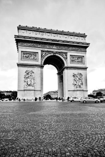 Ave Champs Elysees V-Erin Berzel-Photographic Print