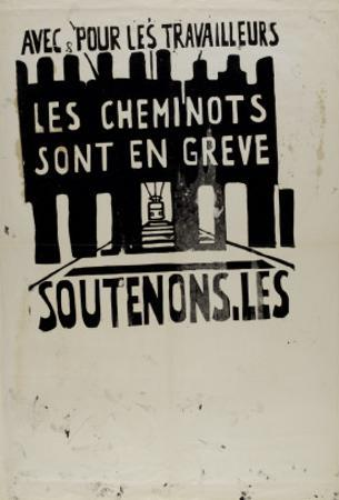 Avec et pour les travailleurs, les cheminots sont en grève, soutenons les !