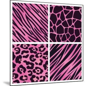 Pink Animal Print Collection by Avel Krieg