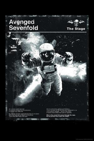 Avenged Sevenfold - Black and White Astronaut--Poster