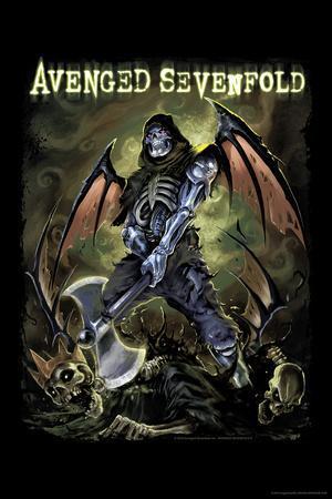 Avenged Sevenfold - Deathbat--Poster