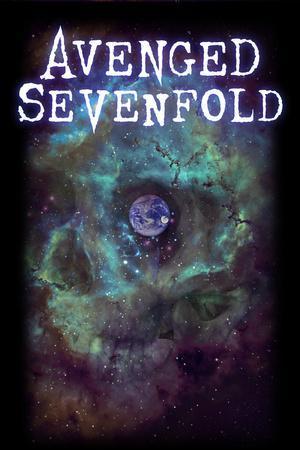 Avenged Sevenfold - Earth Eye--Art Print