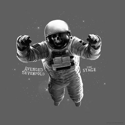 Avenged Sevenfold - The Stage Astronaut Grey--Poster