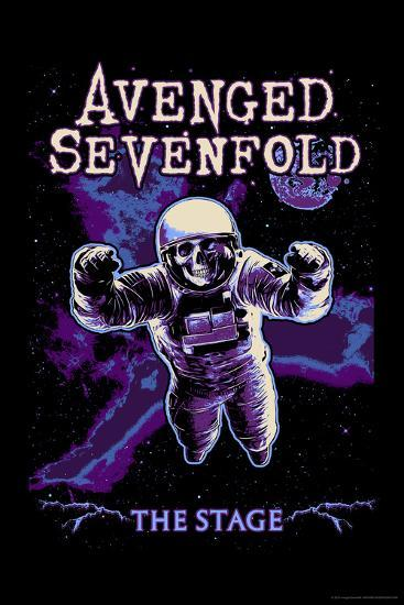 Avenged Sevenfold - The Stage Astronaut Skeleton--Poster