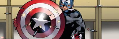 Avengers Assemble Artwork Featuring Captain America