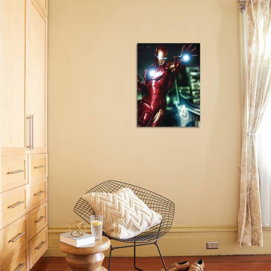 Avengers Assemble Artwork Featuring Iron Man Poster by | Art.com