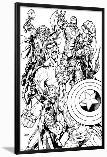 Avengers Assemble Inks Featuring Captain America, Hawkeye, Hulk ...
