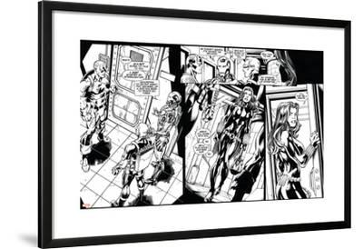 Avengers Assemble Inks Featuring Captain America, Iron Man, Hawkeye, Black Widow