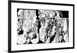 Avengers Assemble Inks Featuring Captain America, Iron Man, Hawkeye, Black Widow