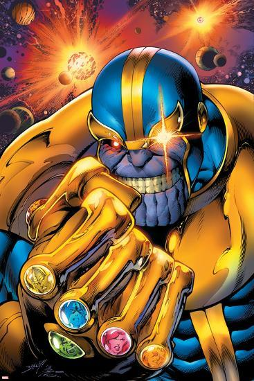Avengers Assemble No. 7: Thanos--Poster