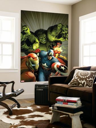 Avengers Assemble No. 9: Captain America, Hulk, Iron Man, Spider Woman