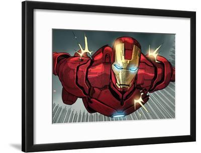 Avengers Assemble Panel Featuring Iron Man