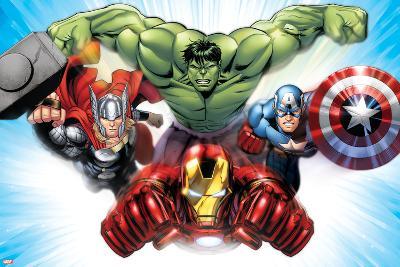 Avengers Assemble - Situational Art--Poster