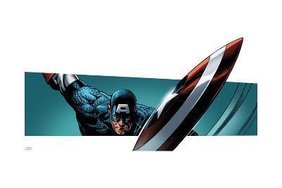 Avengers Assemble Style Guide: Captain America--Art Print