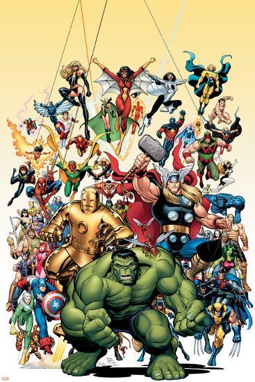 Avengers Classics No.1 Cover: Hulk-Arthur Adams-Poster