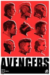 Avengers: Endgame - Character Profiles (Red)