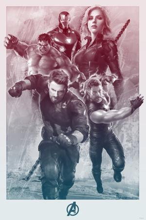 Avengers: Infinity War - Painterly Avengers