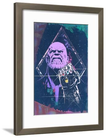 Avengers: Infinity War - Thanos (Watercolor)
