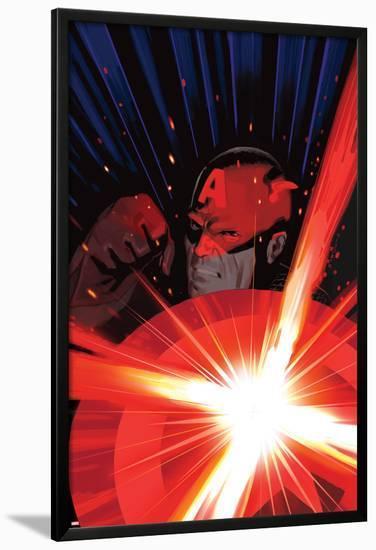 Avengers No.25 Cover: Captain America-Daniel Acuna-Lamina Framed Poster