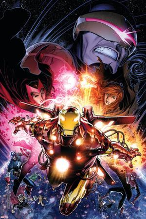 Avengers vs. X-Men No. 12: Iron Man, Summers, Hope, Scarlet Witch