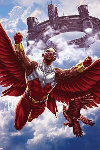 Avengers World No. 7: Falcon, Redwing