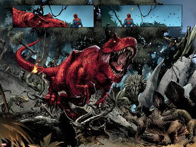 Avenging Spider-Man No. 14: Devil Dinosaur, Moon Boy--Art Print