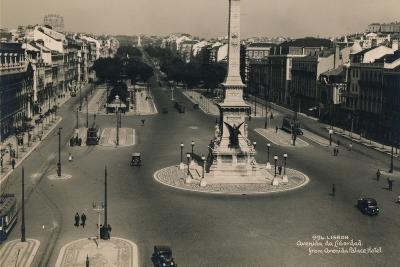 Avenida Da Liberdade, Lisbon, Portugal, C1936--Photographic Print