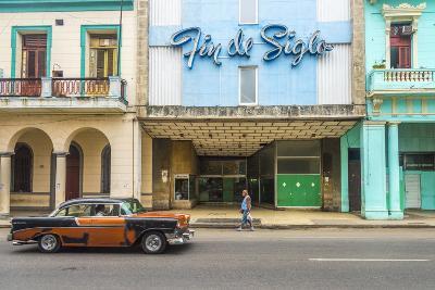 Avenida De Italia, Centro Habana, Havana, Cuba, West Indies, Caribbean, Central America-Alan Copson-Photographic Print