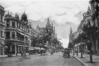 Avenida Rio Branco, Rio De Janeiro, Brazil, Early 20th Century--Giclee Print