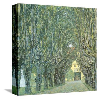 Avenue Before Room, Schlob Park, c.1912-Gustav Klimt-Stretched Canvas Print