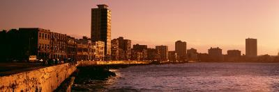 Avenue De Maceo, Havana, Cuba--Photographic Print