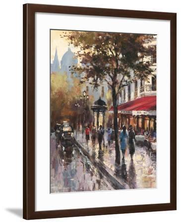 Avenue des Champs-Elysees 1-Brent Heighton-Framed Art Print