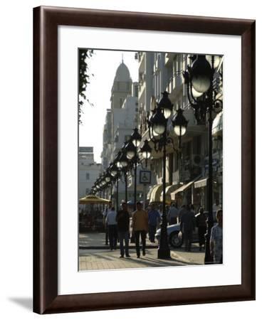 Avenue Habib Bourgiba, Tunis, Tunisia, North Africa, Africa-Ethel Davies-Framed Photographic Print