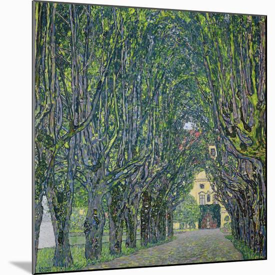 Avenue in the Park of Kammer Castle, 1912-Gustav Klimt-Mounted Giclee Print