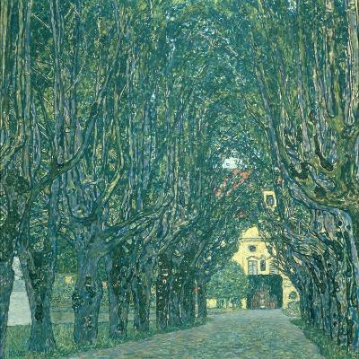 Avenue in the Park of Schloss Kammer, 1912-Gustav Klimt-Giclee Print