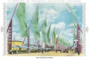 Avenue of Flags, Chicago World Fair