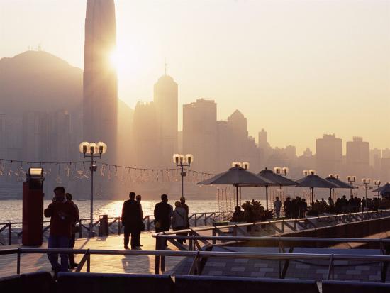 Avenue of Stars, Tsim Sha Tsui, Kowloon, Hong Kong, China-Amanda Hall-Photographic Print