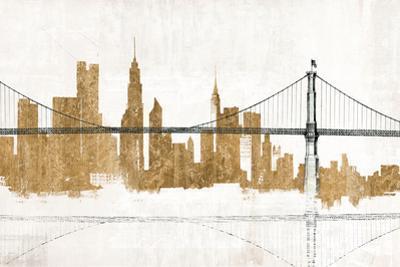 Bridge and Skyline Gold by Avery Tillmon