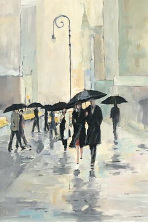 City in the Rain by Avery Tillmon