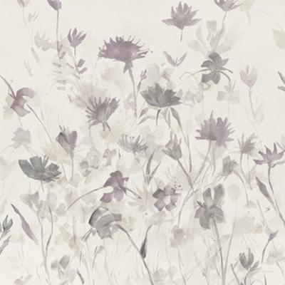 Garden Shadows III Purple Grey by Avery Tillmon