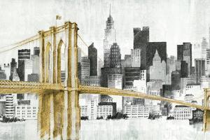 New York Skyline I Yellow Bridge no Words by Avery Tillmon