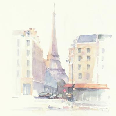 Paris Morning Square by Avery Tillmon