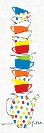 Stacks of Cups I by Avery Tillmon