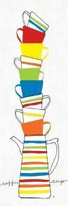 Stacks of Cups II by Avery Tillmon