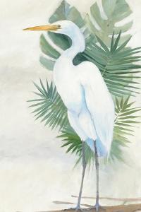 Standing Egret II Crop by Avery Tillmon